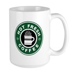 Large NCIS Seal Hot Fresh Coffee Mug