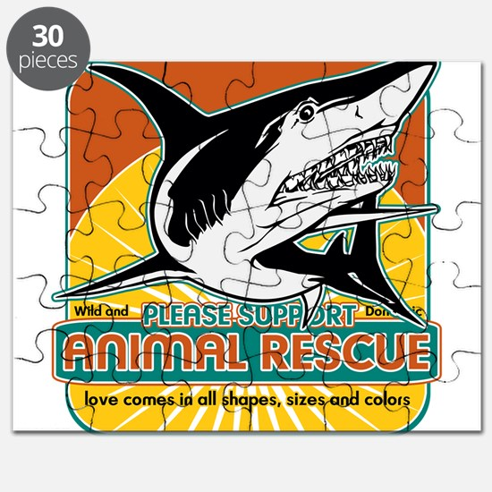 Animal Rescue Shark Puzzle