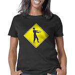 Caution - Zombies! Women's Classic T-Shirt