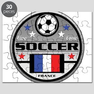 Live Love Soccer France Puzzle