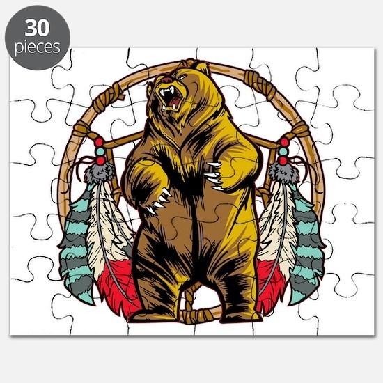 Bear Dream Catcher Puzzle