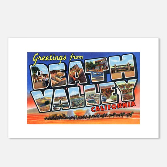 Death Valley Greetings Postcards (Package of 8)