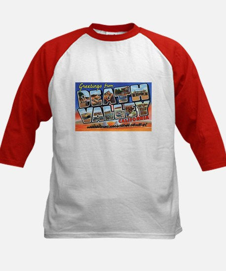 Death Valley Greetings (Front) Kids Baseball Jerse