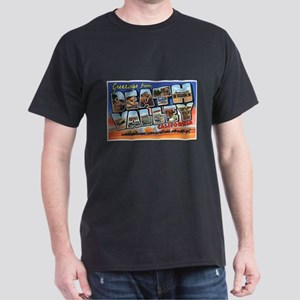Death Valley Greetings (Front) Black T-Shirt