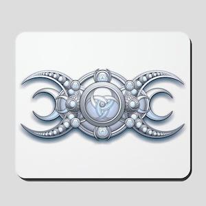 Ornate Wiccan Triple Goddess Mousepad