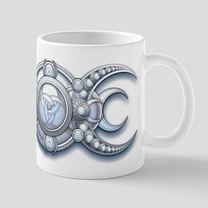 Ornate Wiccan Triple Goddess Mug