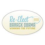 Winning the Future Sticker (Oval 10 pk)