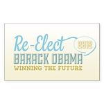 Winning the Future Sticker (Rectangle)