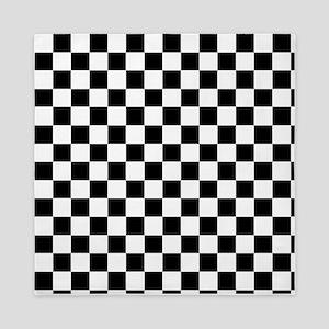 Checkerboard Queen Duvet