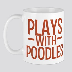 PLAYS Poodles Mug