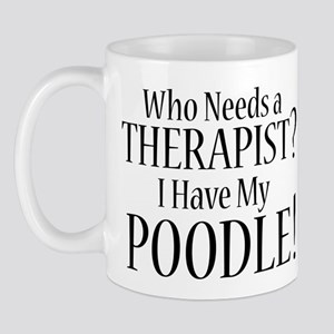 THERAPIST Poodle Mug