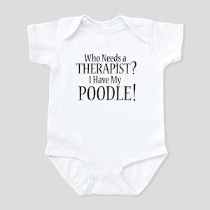 THERAPIST Poodle Infant Bodysuit