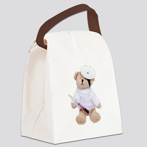 MalePediatricsDoctor100409 Canvas Lunch Bag
