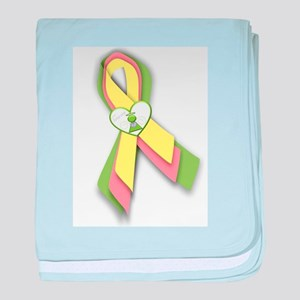 T13 Ribbon baby blanket