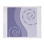Trendy Abstract Throw Blanket