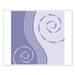 Trendy Abstract Small Poster