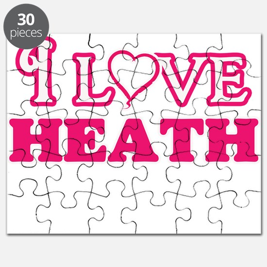 I Love Heath Puzzle