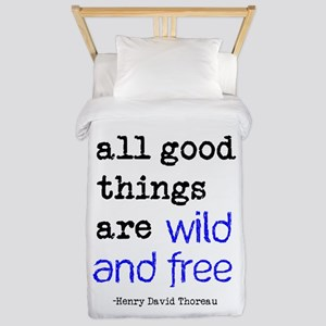 Wild and Free Twin Duvet