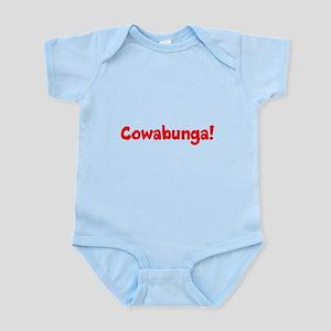 Cowabunga (red) Infant Bodysuit