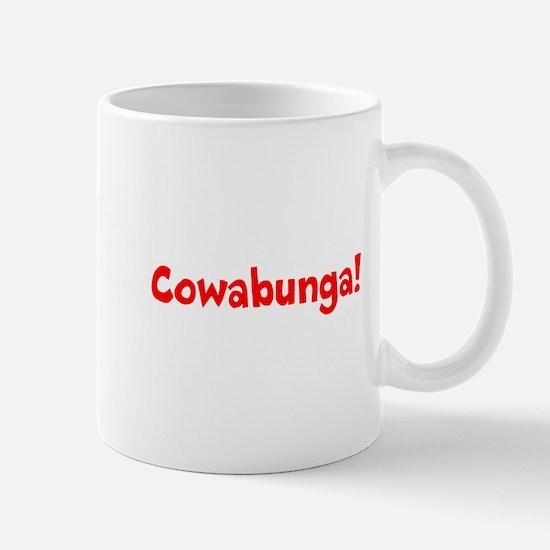 Cowabunga (red) Mug