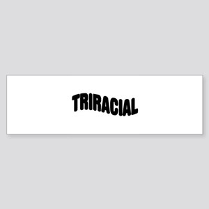 Triracial/ Multiracial Pride Bumper Sticker