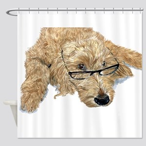 Goldendoodle Stella Shower Curtain