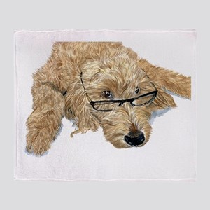 Goldendoodle Stella Throw Blanket