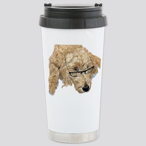 Goldendoodle Stella Stainless Steel Travel Mug