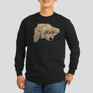 Goldendoodle Stella Long Sleeve Dark T-Shirt