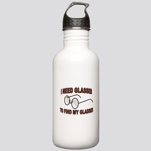 JUST A BLUR Stainless Water Bottle 1.0L
