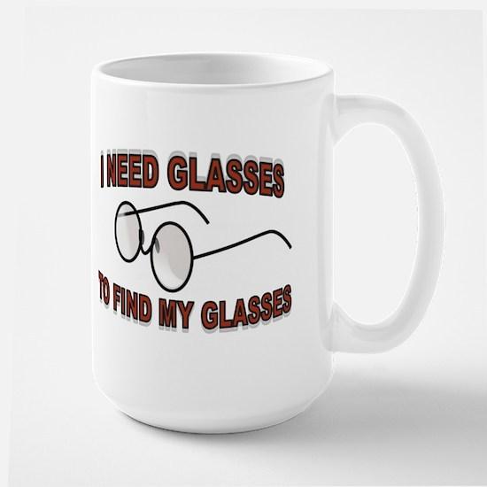 JUST A BLUR Large Mug