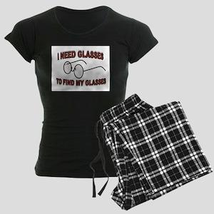 JUST A BLUR Women's Dark Pajamas