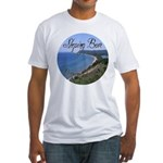 Sleeping BEar Brewing Company Fitted T-Shirt