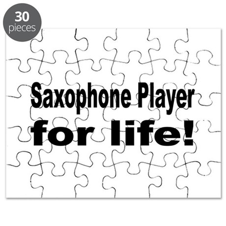 Saxophone Puzzle by musicbandshirts