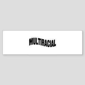 Multiracial Pride Bumper Sticker