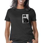 black cat lg Women's Classic T-Shirt