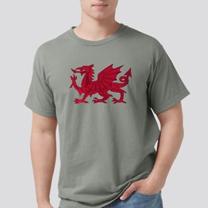 Welsh Dragon Mens Comfort Colors Shirt