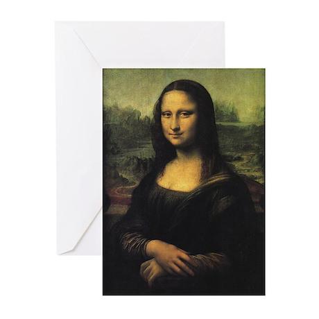 Mona Lisa Greeting Cards (Pk of 10)