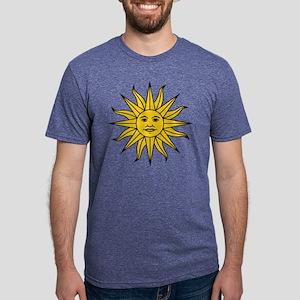 Sun of May Mens Tri-blend T-Shirt