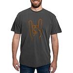 Metal Horns Mens Comfort Colors Shirt