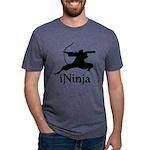 iNinja Mens Tri-blend T-Shirt