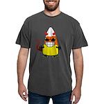 Evil Candy Corn Mens Comfort Colors Shirt