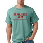 Restricted Area Mens Comfort Color T-Shirts