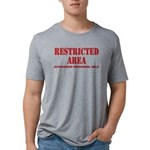 Restricted Area Mens Tri-blend T-Shirts