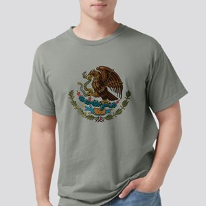 Mexican Coat of Arms Mens Comfort Colors Shirt