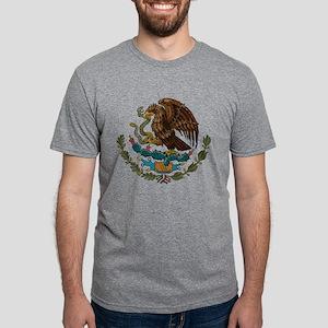 Mexican Coat of Arms Mens Tri-blend T-Shirt