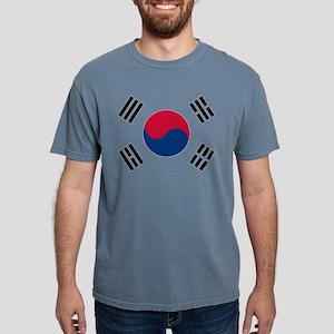 Korean Flag Mens Comfort Colors Shirt