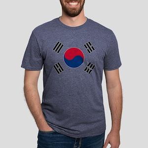 Korean Flag Mens Tri-blend T-Shirt