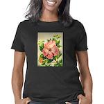 Pink Hibiscus Beautiful Pa Women's Classic T-Shirt