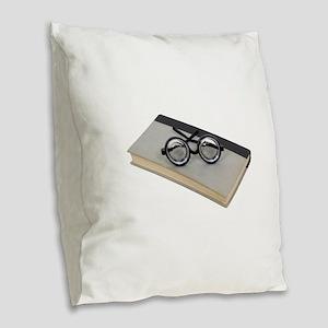 LoveReading100409 copy copy.pn Burlap Throw Pillow
